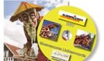 De cover van de dvd en de sticker. Foto: PR