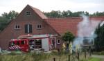 Schoorsteenbrand in Eibergen. Foto: GinoPress