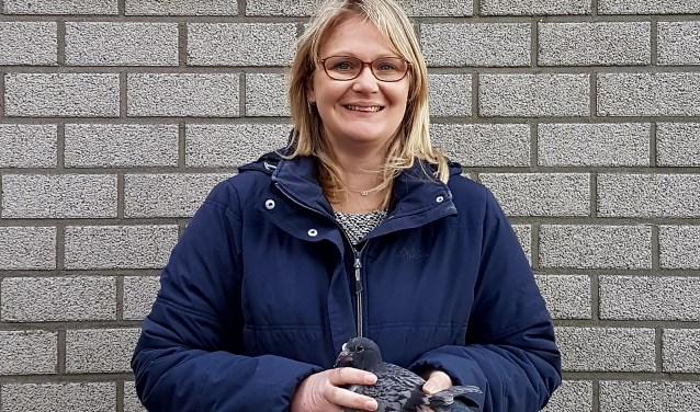 Sabine Niessink wederom de mannen de baas. Foto: PR