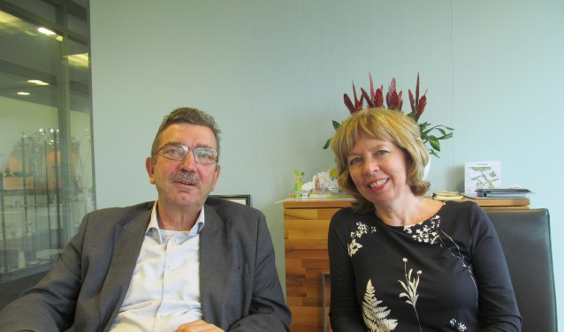 Paul Seesing en Ingrid Lambregts. Foto: Bert Vinkenborg
