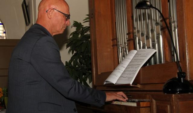 Het orgelconcert door Henk Wormeester werd gewaardeerd. Foto: Liesbeth Spaansen