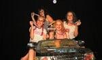 Vier meiden verdienden de eerste prijs met Shout Out to My Ex van Little Mix. Foto: Achterhoekfoto.nl/Liesbeth Spaansen