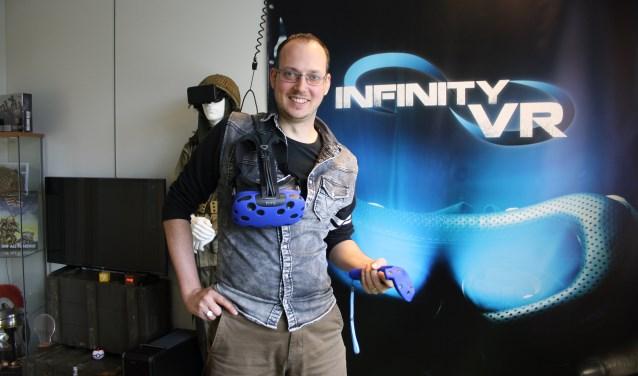 Glenn van 't Hooft, initiatiefnemer van Infinity VR. Foto: PR