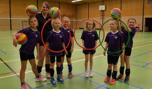 Bij Focus volleyballen kan vanaf zes jaar. Foto: Gerrit Kempers