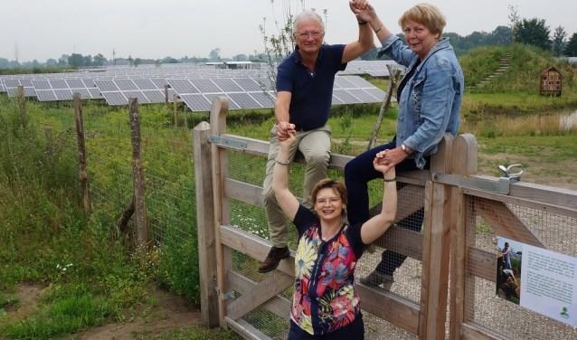 Voorgangers Oecumenische Startzondag: Wim Heesen, Gerrie Spekkink en ds. Aleida Blanken. Foto:PR
