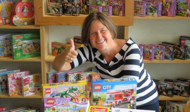 Jacolien Reurink is eigenaresse van Keigoed Speelgoed. Foto: PR