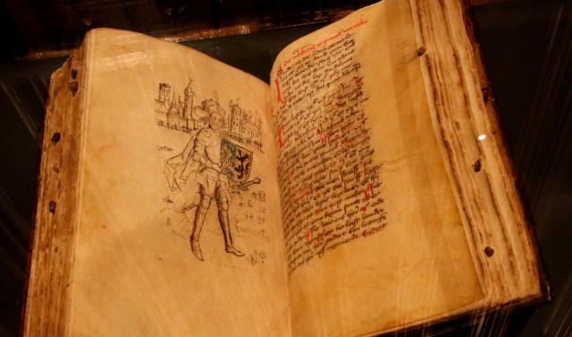 Het manuscript is terug in 's-Heerenberg. Foto: Rob Vister