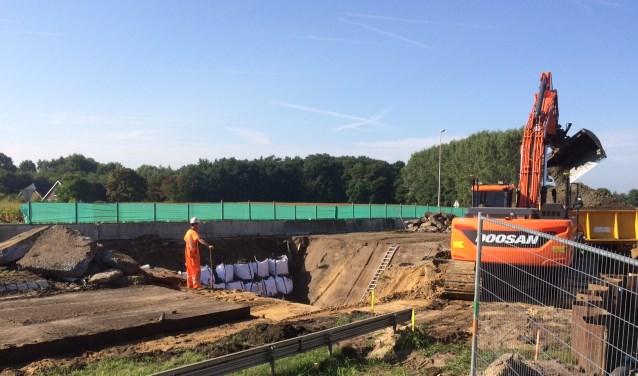 Er wordt volop gewerkt aan de Nieuwe Twenteroute. Foto: PR