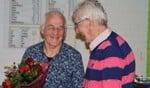 Van links naar rechts Bennie te Veluwe en Bennie Hoitink (60 jaar lid). Foto: PR Vios