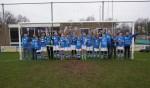 DZSV JO15-3 viert het kampioenschap. Foto: Frank Vinkenvleugel