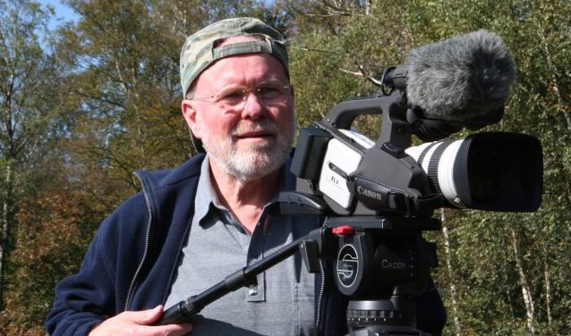 Ben Tragter aan het werk als cameraman. Foto: Ben Tragter