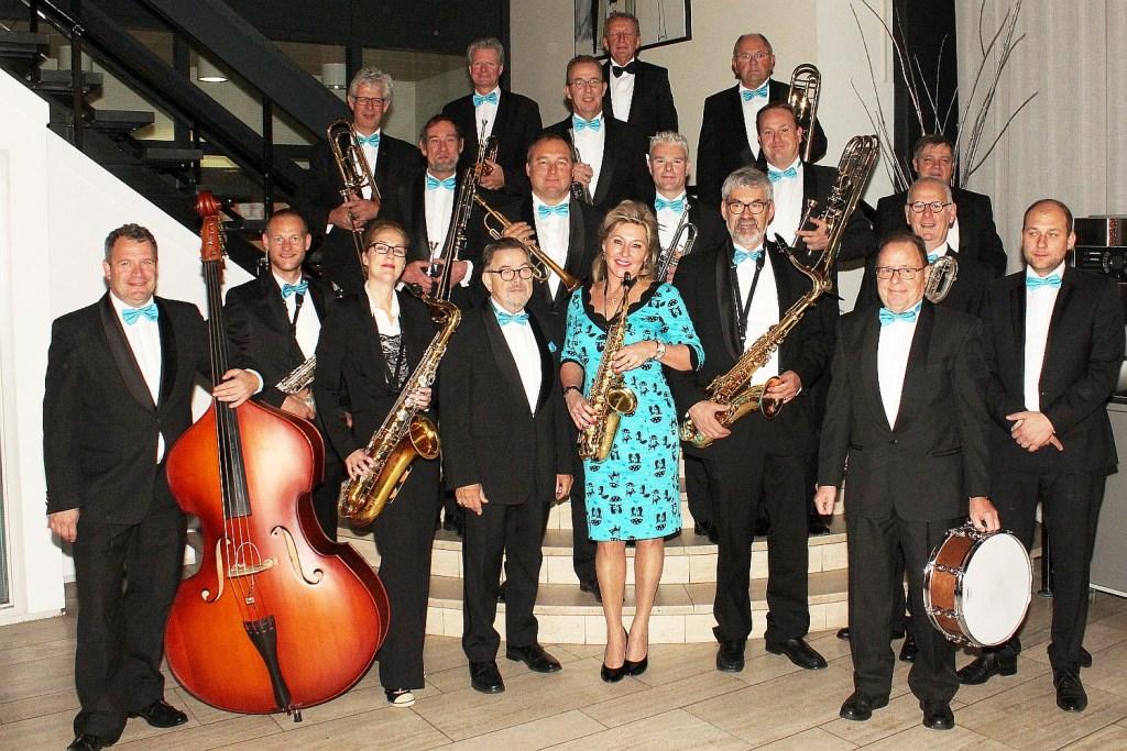 The River Aa Big Band Foto: Doe Jazz © Achterhoek Nieuws b.v.