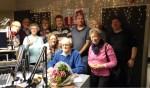 De medewerkenden aan Cantico, bij het afscheid van Jan Lensink. Foto: PR