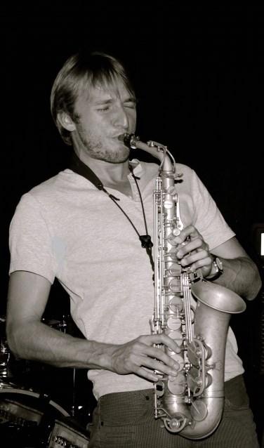 Saxofonist Paul van der Feen. Foto: PR