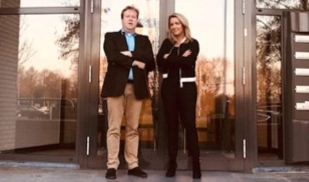 Sjoerd van der Vegt en Nienke Beun. Foto: PR