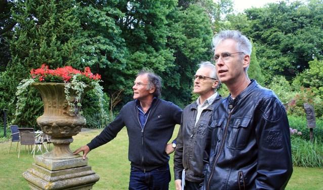 Henk Beunk, Joop Koopmanschap en Mark Ebbers. Foto: Noe¨l Ebbers-Versteegen