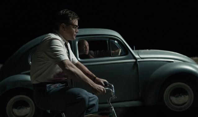 Matt Damon lijkt in Suburbicon vader van een modelgezin in een vredig voorstadje. Foto: PR