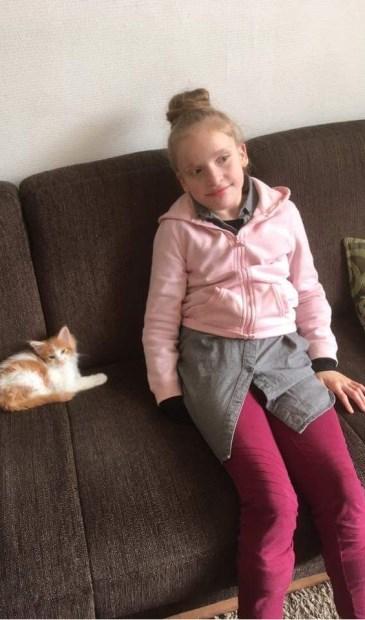 Jorja wordt tien jaar. Foto: PR