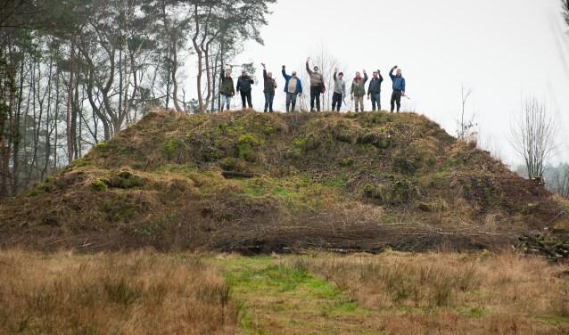 De vrijwilligers van de Natuurwerkgroep Gorsselse heide. Foto: PR