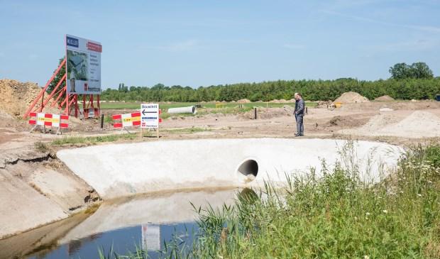 Op bedrijvenpark Laarberg wordt hard gewerkt de ontwikkeling van de industrie en met name duurzame project zoals een groot solarpark. Foto: PR