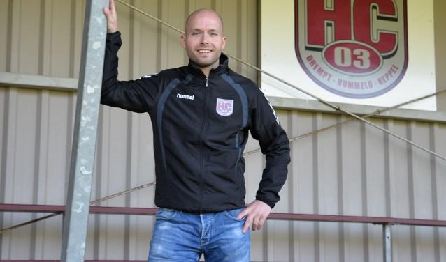 Klaas Vermeulen, hoofdtrainer HC '03. Foto: PR