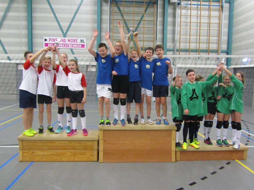 Sint Joris won bij de groepen 7. Foto: PR