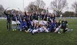 Het kampioensteam DZSV JO17-1. Foto: Frank Vinkenvleugel
