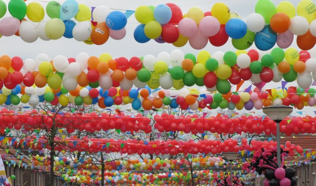 Ook in 2018 wordt een Ballonnenfonds opgericht. Foto: PR Groenlo Vestingstad Promotion