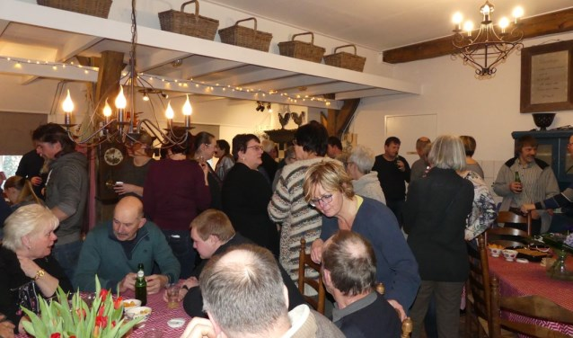 Nieuwjaarsvisite op Bekveld. Foto: Caroline Fonhof
