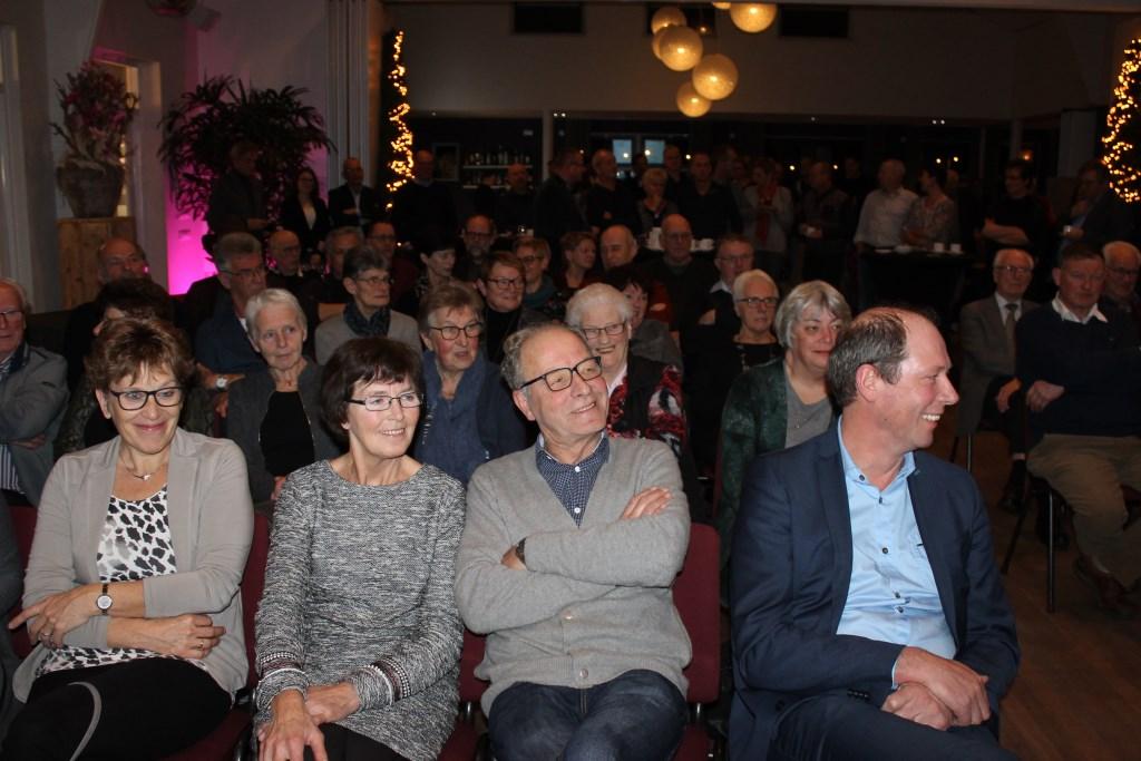 Veel belangstelling voor de Nieuwjaarsreceptie in Bredevoort.  Foto: Leo van der Linde  © Achterhoek Nieuws b.v.