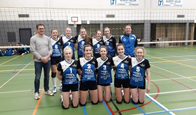 Het NOJK team niet naar de finale. Foto: PR