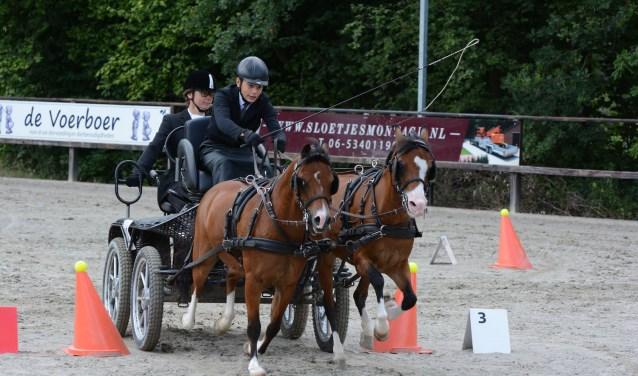 Jorn Elburg in actie tijdens de competitie in 2017. Foto: Henk Prinsen