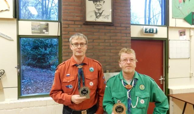 Frank Weijers en Yuri van Uum werden benoemd tot erelid. Foto: PR