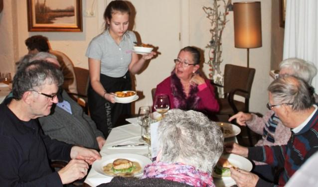 De diners van het project waren een groot succes. Foto: Natasja te Linde