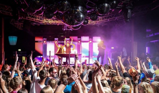 Bij Qmusic the party verzorgen de Qmusic-dj's de muziek. Foto: PR