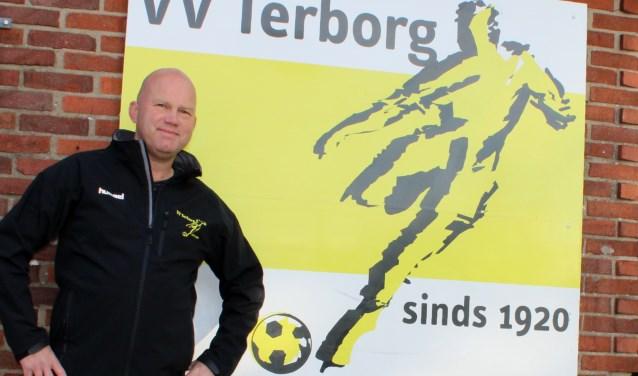 Jan Stern, de nieuwe trainer van vv Terborg. Foto: John van der Kamp