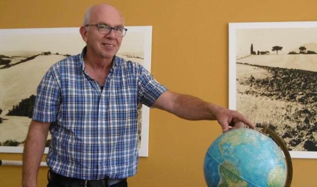 Johan Schlief heeft oog voor onze planeet. Foto: Maarten Buser