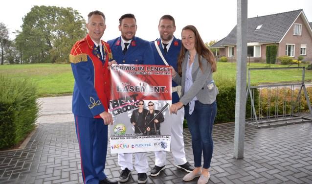 Wouter Giesen, Mark en Marjon Römer, Bas Kock. Foto: PR