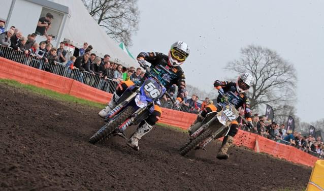Hopelijk weer volop strijd bij Hamove clubcross 2019. Foto: Henk Teerink