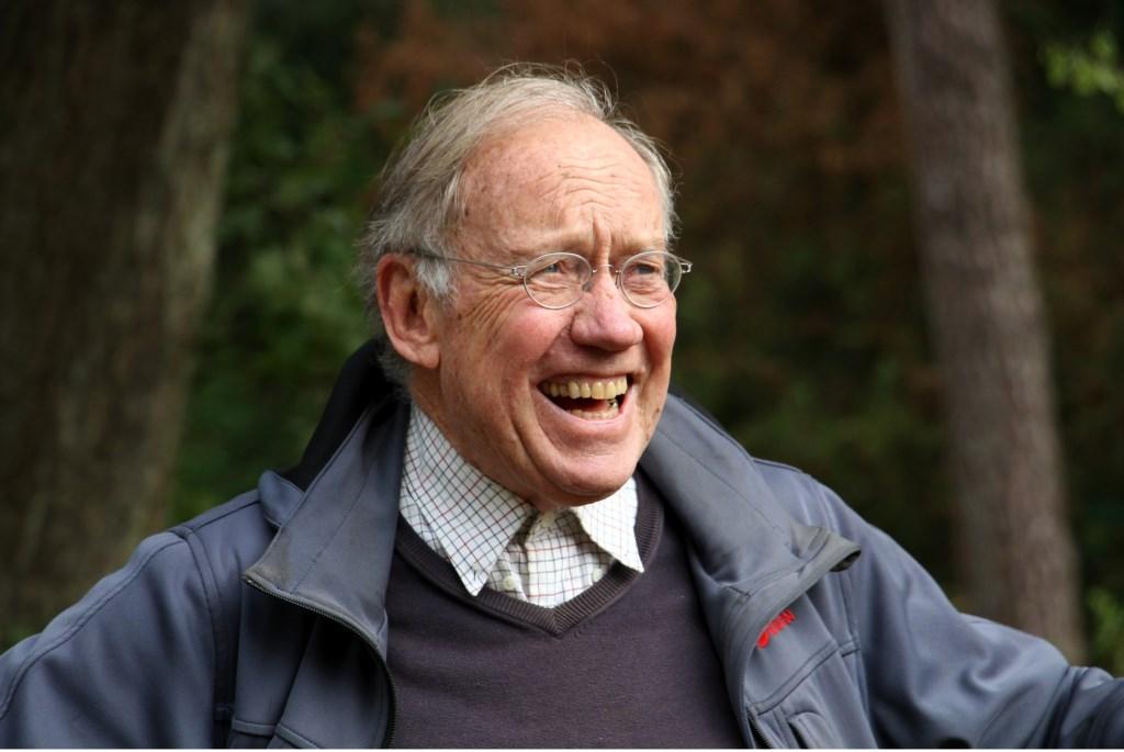 De tachtigjarige Rhijnvis Feith. Foto: Liesbeth Spaansen  © Achterhoek Nieuws b.v.