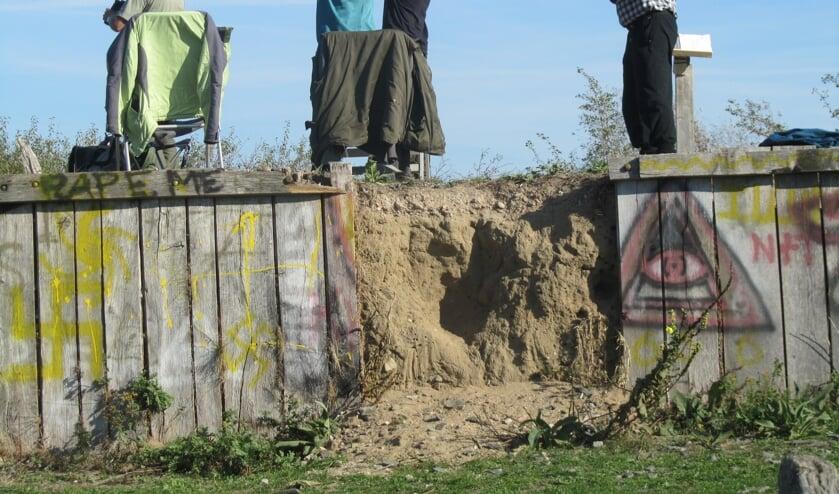 De Vogelwerkgroep telde een hele dag tekvogels. Foto: Bernhard Harsfterkamp