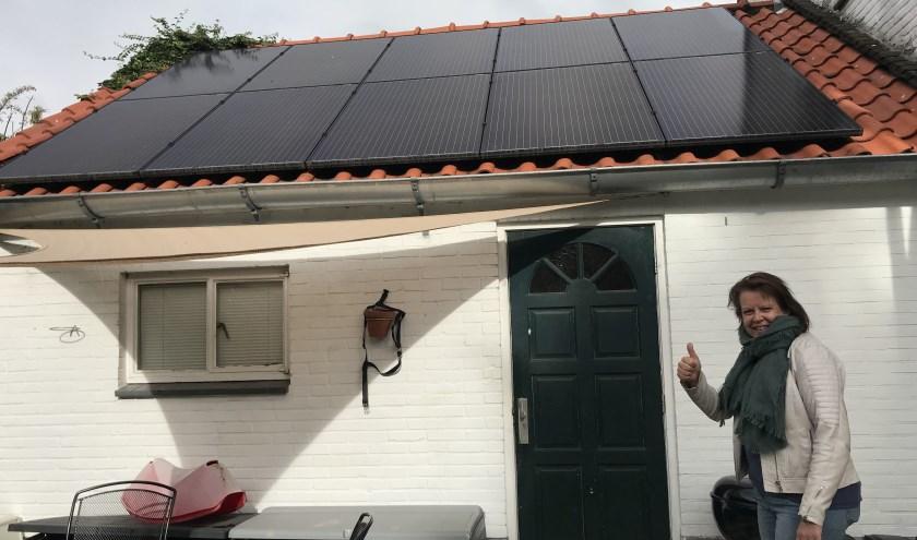 De zonnepanelen zorgen voor veel elektrisch rijplezier. Foto: PR
