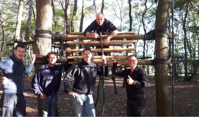 De survivalsporters met hun 'Rondje Beltrum' . Foto: PR