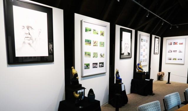 Een expositie met drie verschillende invalshoeken. Foto: Theo Huijskes