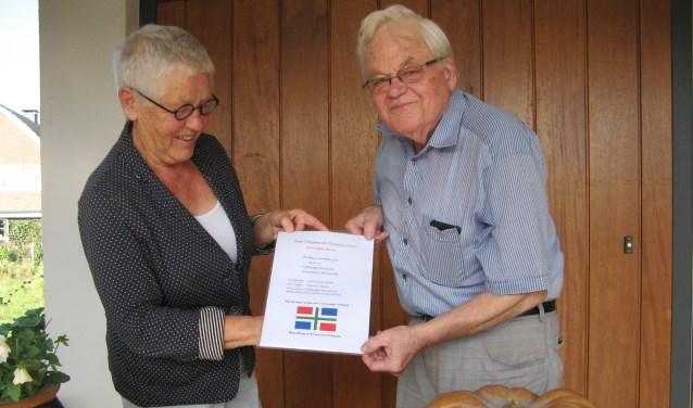 Martje Haan en Fokko Helder. Foto: Bart Kraan.