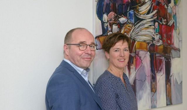 Anneke Nijland-Bennink en Arjan Nijland. Foto: PR