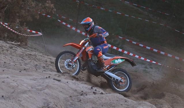 Bjorn Wisman achtste in zijn klasse. Foto: Henk Teerink