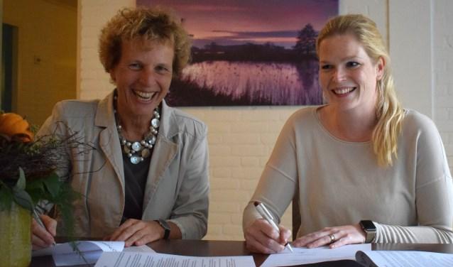 Huisarts Caroline Nierkens en Phyleen de Jong - Markenheem. Foto: Jeroen Garritsen