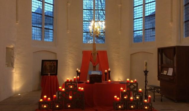 Protestantse kerk Silvolde -Taizé sfeer