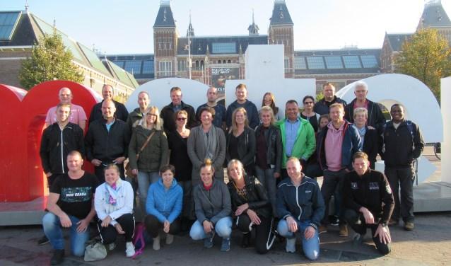 Het team van Heegt Installatie met partners tijdens het jubileumuitstapje. Foto: PR